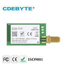 10 개/몫 LoRa 모듈 SX1278 433MHz IoT 무선 데이터 트랜시버 EbyteE32 433T20DT UART 20dBm 100mW DIP 송신기 및 수신기