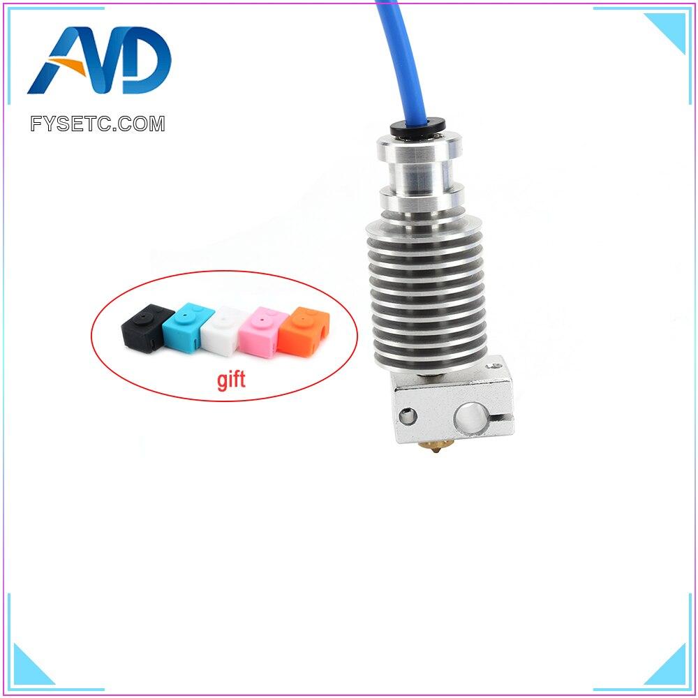 Mise à niveau radiateur extrudeuse radiateur pour MK3 Hotend 1.75MM Direct & Bowden avec E3D Hotend bloc V6 buse pour PT100 Prusa I3 MK3