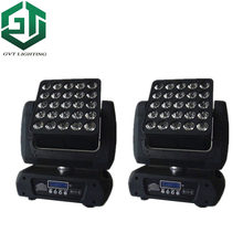 2pcs/lot 25*12w Matrix Light led moving head Led 5x5 Matrix Beam Moving Head stage lighting(China)