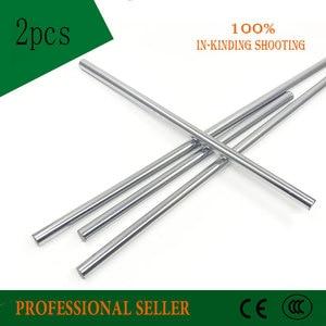Image 2 - 2pcs 10mm 10x500 linear shaft 3d printer 10mm x 500mm Cylinder Liner Rail Linear Shaft axis cnc parts