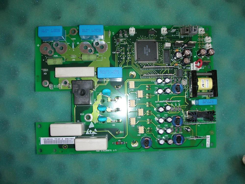 1PC USED ABB inverter /IGBT NINT-45C ACS600 / with BSM25GD120DN2 module 1pcs lot inverter module fp10r12yt3 power igbt module