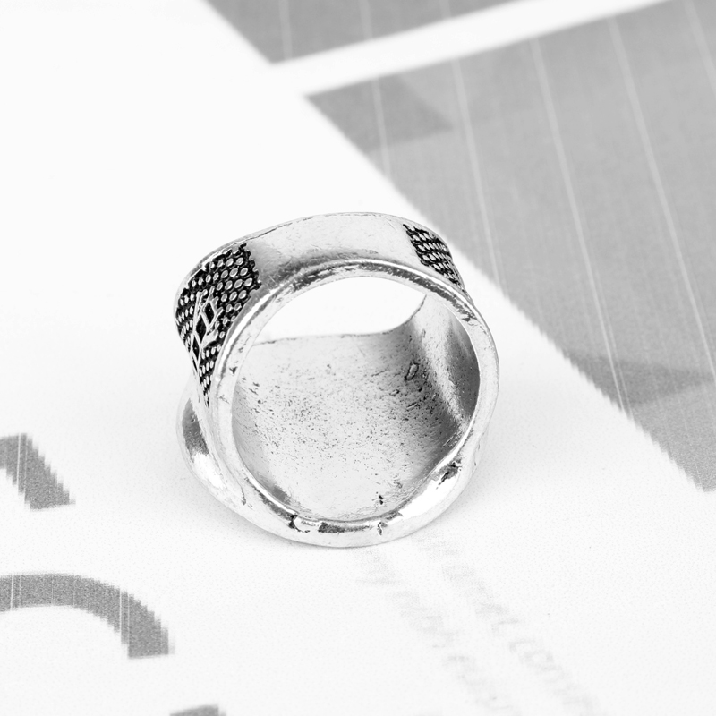 dongsheng wholesale Mason Symbol Member Rings Men Vintage Exggerated Big G Punk FINGER RING For Men Party Accessories -25