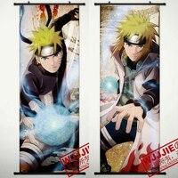 45X125CM Naruto Uzumaki Home Decor decorative cartoon anime scroll mural poster art cloth canvas paintings wall picture NARUTO