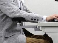 Poziome Regulowany Uchwyt Ze Stopu Aluminium Podkładki Pod Mysz Ręce Przeciągnij wsparcie Nadgarstka Stoi uchwyt
