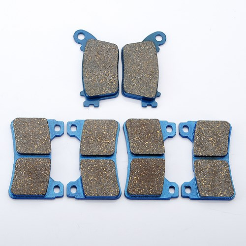 3 Pair /set Brake Pads For HONDA CBR1000 CBR600 CBR 600 1000 RR 2006 2007 2008 2009 2010 Front Rear motorcycle front and rear brake pads for honda cbr 600 rr 2005 2006 cbr 1000 rr 2004 2005 brake disc pad kit