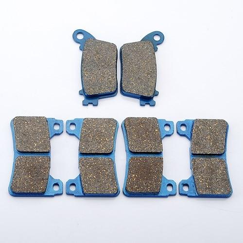 3 Pair /set Brake Pads For HONDA CBR1000 CBR600 CBR 600 1000 RR 2006 2007 2008 2009 2010 Front Rear arashi motorcycle radiator grille protective cover grill guard protector for 2008 2009 2010 2011 honda cbr1000rr cbr 1000 rr