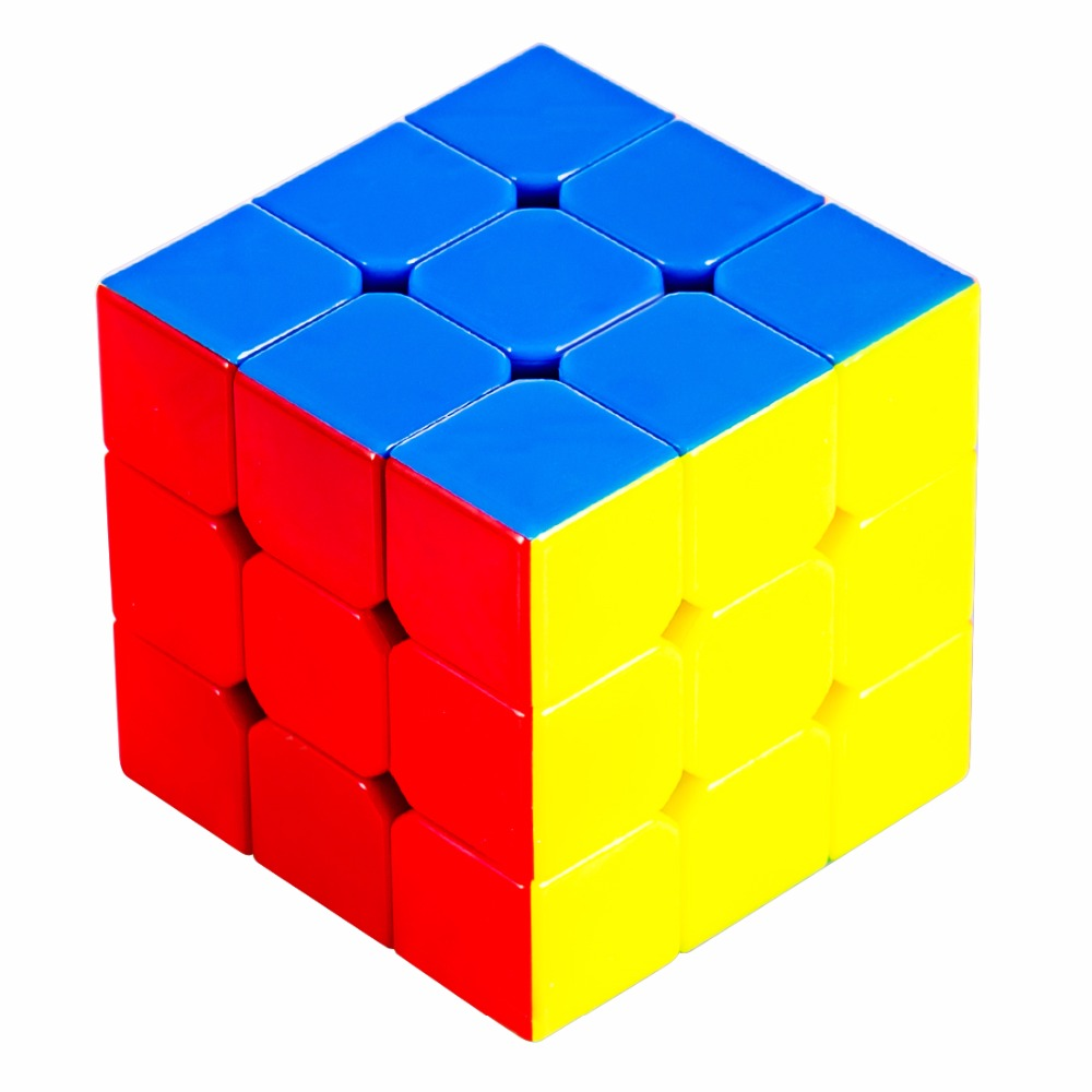 Cyclone Boys FeiWu Mini 3x3x3 Speed Cube Stickerless Colorful Magic Cube Puzzle Educational Fidget Toy Gift For Children 40cm