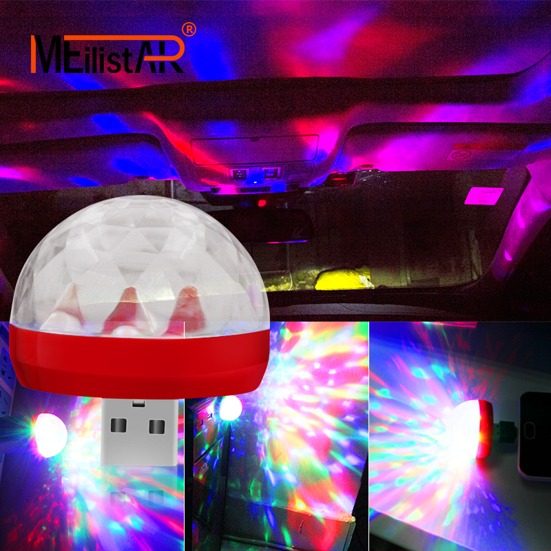 Car styling LED Car USB Atmosphere Light DJ RGB Mini Colorful Music Sound Lamp for USB-C Phone Surface Match Car accessoriesCar styling LED Car USB Atmosphere Light DJ RGB Mini Colorful Music Sound Lamp for USB-C Phone Surface Match Car accessories