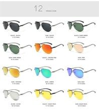Aluminum Polarized Driving Sunglasses