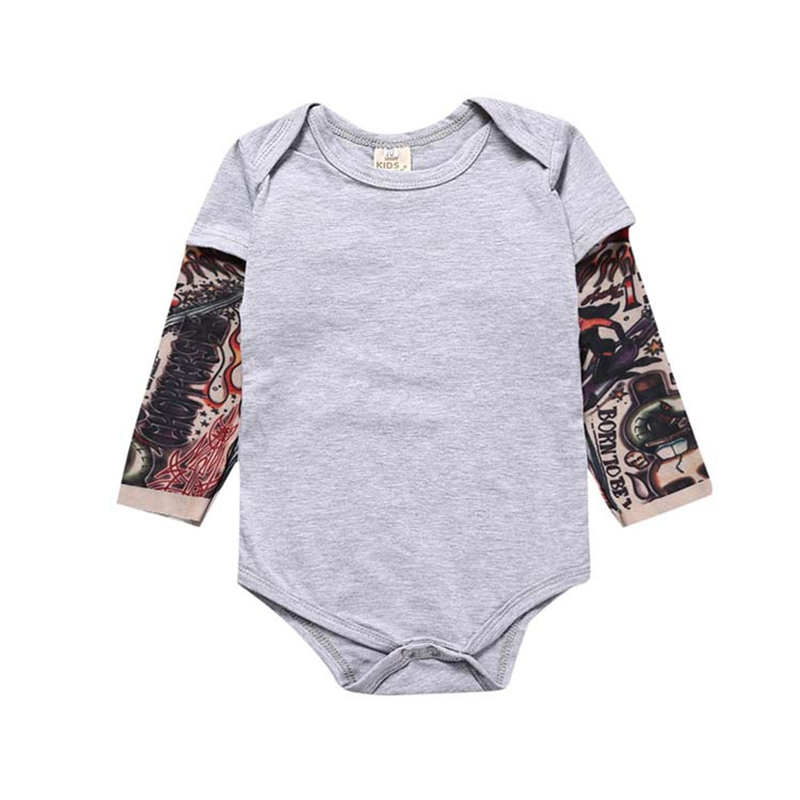 baby rompers tattoo baby boy clothing cool baby boy