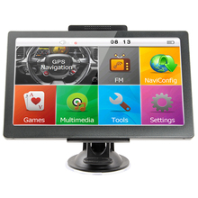 KMDRIVE 7 zoll Auto Lkw GPS Navigation 256M RAM 8gb unterstützung Russland/EU/N & South amerika/Asien/Afrika/AU NZ Karten