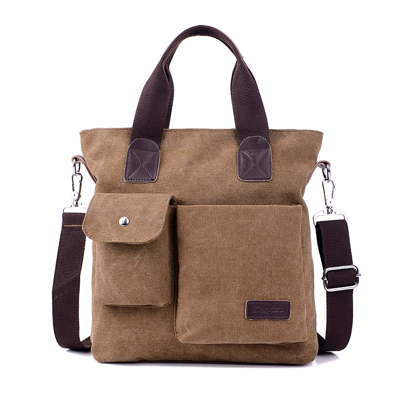 Business men bag shoulder bag canvas leisure Messenger bag high quality men bag handbag  ...