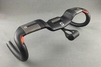 TOSEEK New Full Carbon Fiber Road Bike Integrated Handlebar Bent Handlebar Matte 400 420440mm With