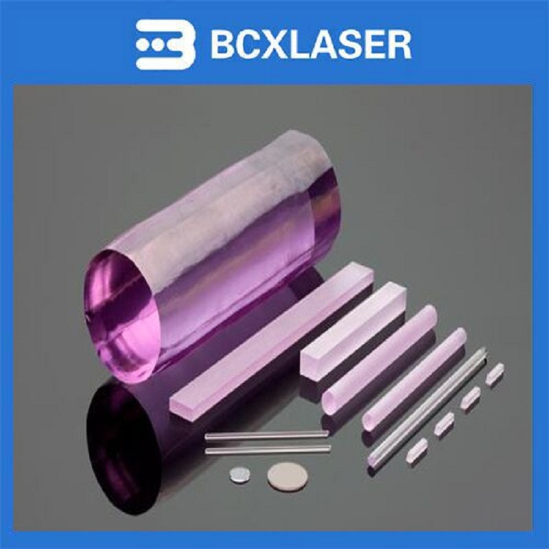 7*165 Manufacture price Nd YAG Laser Crystal Rod for Solid State Laser