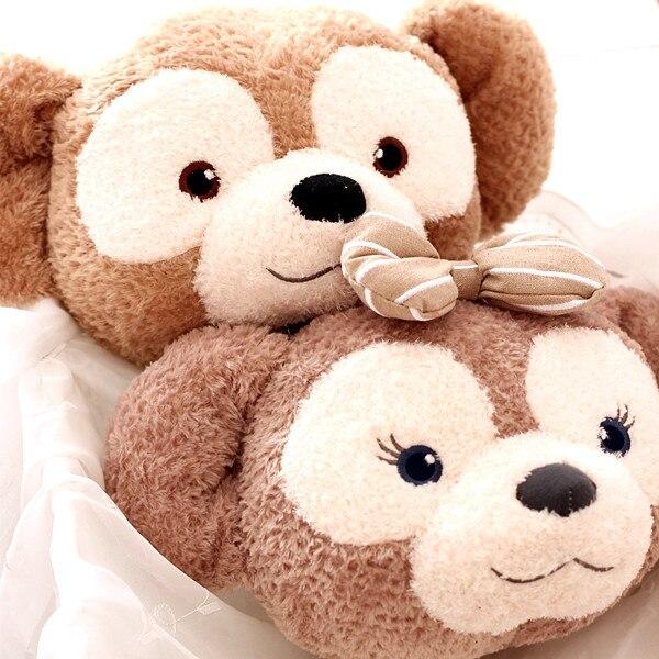 1pc 25cm cartoon Duffy Shirley May bear plush car neck pillow vehicle novelty kids romantic girl gift stuffed toy