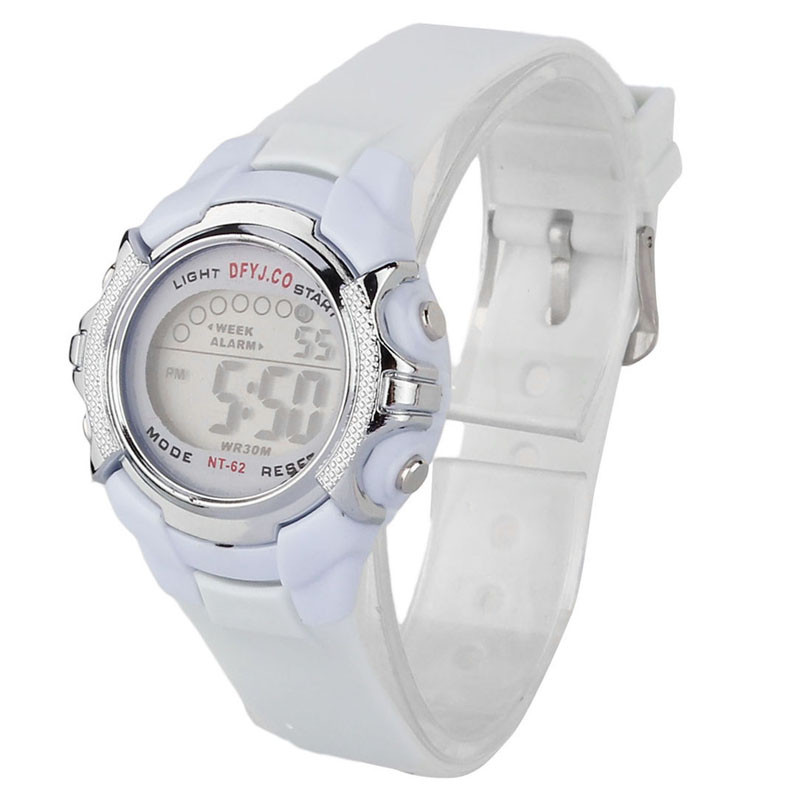 2017  Reloj Fashion Children Digital LED Quartz Alarm Date Sports Wrist Watch Hot   Dece15 hoska hd030b children quartz digital watch
