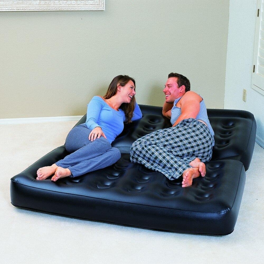 Magnificent Us 59 99 75056 Bestway 188X152X64Cm 5 In 1 Multifunctional Couch Air Pump 74 Machost Co Dining Chair Design Ideas Machostcouk
