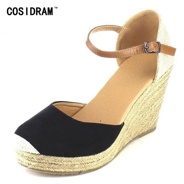 Sne Shoes Women In 99cosidram Sandals Comfortable Fashion On From Ladies 101 Heels Summer Us23 Beach Wedges High jq345ARL
