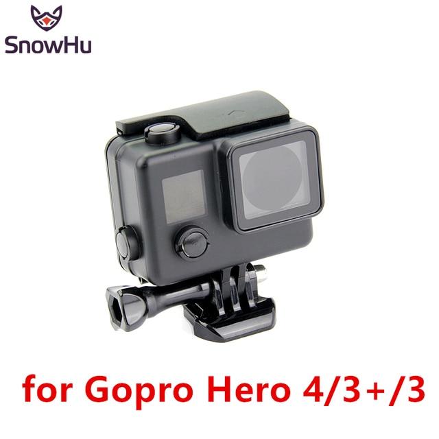HOT NEW  Housing Case GoPro Hero 4 3+Camera Black Waterproof Housing 35M Under Water Diving Box Cover Go pro Accessories  GP101B