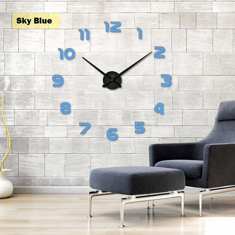 2020 Νέο Moderm DIY τοίχο ρολόι Ακρυλικό - Διακόσμηση σπιτιού - Φωτογραφία 3