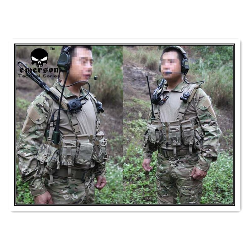 EMERSON Gen2 Combat BDU chemise & pantalon & coussinets uniforme de combat Multicam militaire camouflage uniforme costumes EM2725