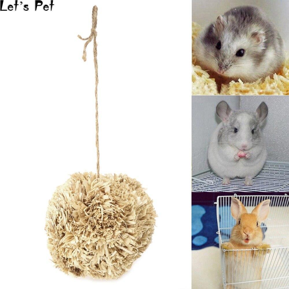 Let s font b Pet b font Corn Husk Leaf Ball font b Pet b font