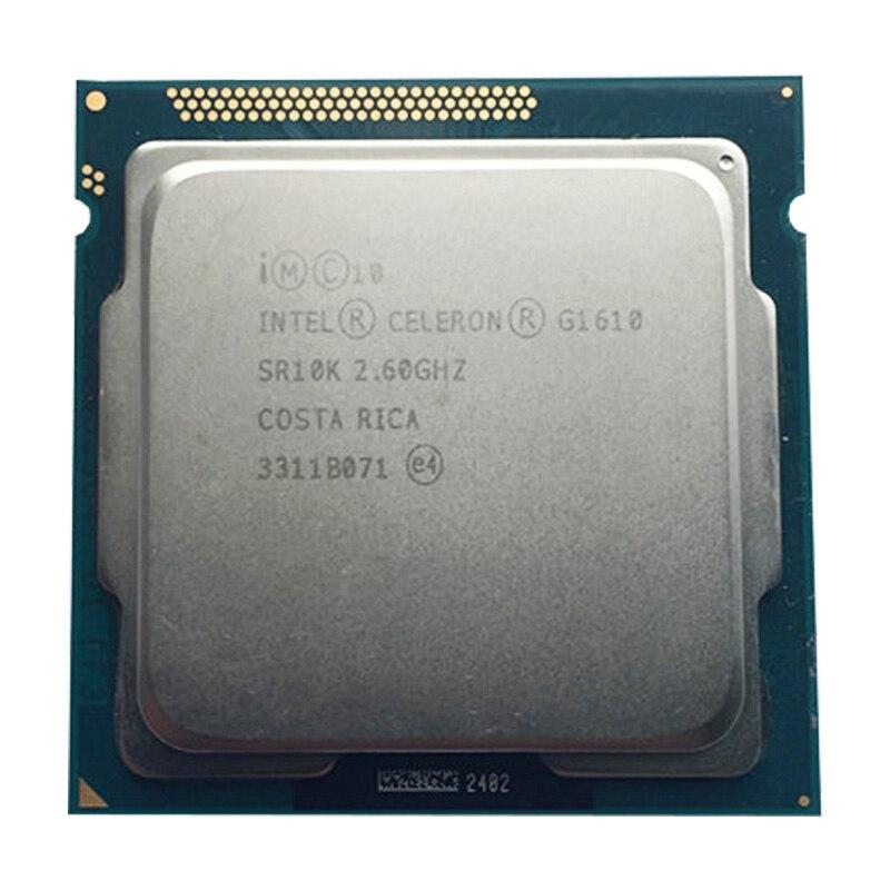 Intel G1610 Dual-core CPU LGA1155/2.6Ghz 2m/compatibility H61 H81 B85 B75 Motherboard Pentium Dual Core G2010 Processor