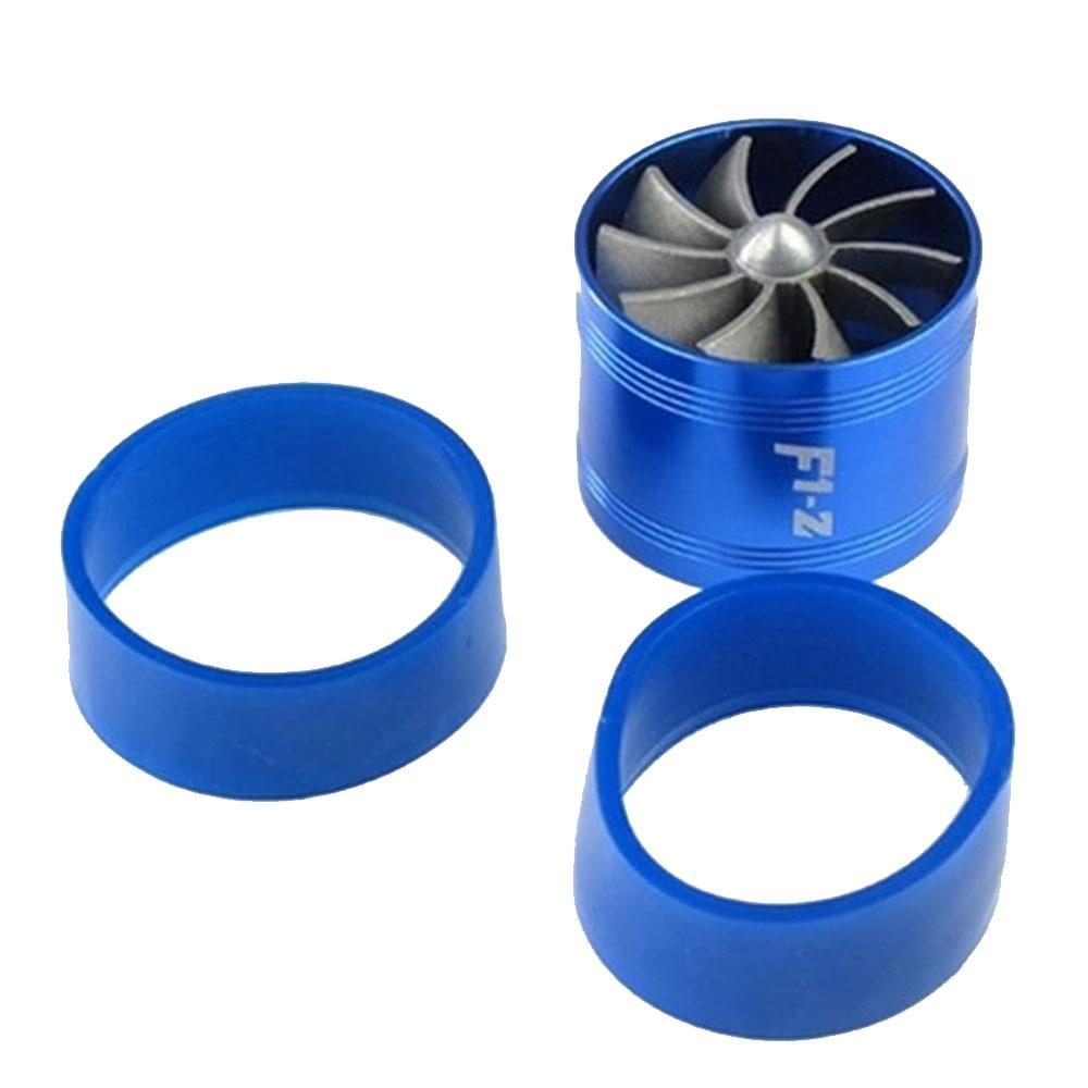 "3/"" Tornado Turbonator Intake Single Fan Gas Fuel Saver Supercharger Gold"