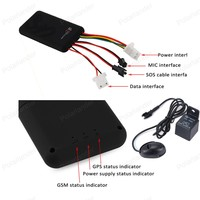 GT06 vehicle GPS Tracking SMS GSM gprs Vehicle auto Tracking Device Monitor Location Remote Control for Motorcycle Scooter
