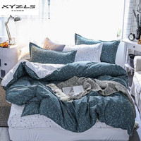 XYZLS High Quality Polyester Bedding Sets 2 3 4PCS Space Starlight Printed Bed Linen Duvet Cover