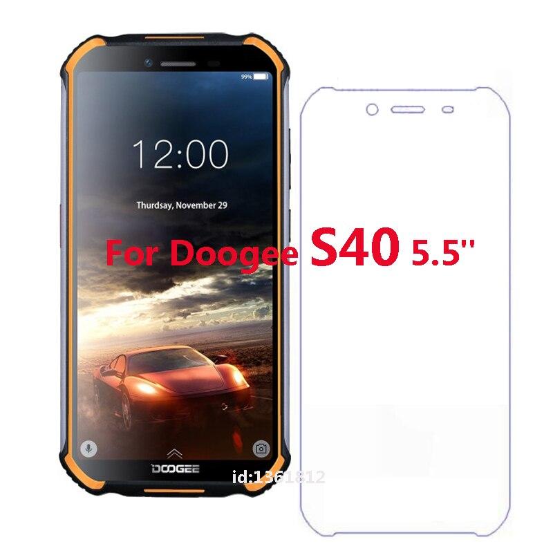 Doogee S40 verre trempé de haute qualité nouveau Film protecteur d'écran pour Doogee S 40 Mobile Smartphone verre 5.5 pouces