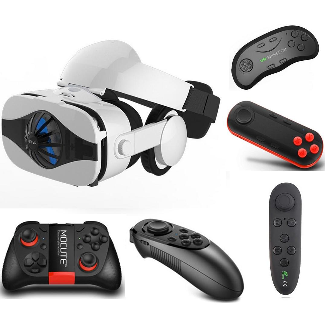 <font><b>Space</b></font> <font><b>VR</b></font> <font><b>Glasses</b></font> with Headphone <font><b>VR</b></font> Headset Goggles Set 3D Virtual Reality Lenses for Video Game Movie Viewer Make Eyes Travel