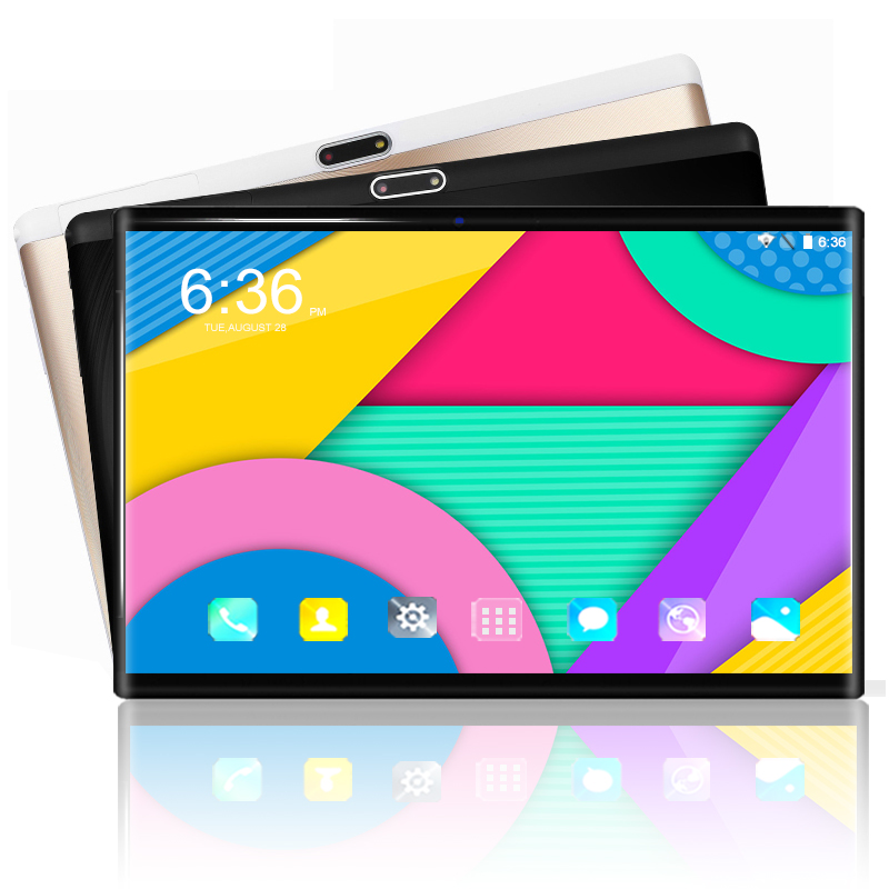 10 Inch 3G/4G LET Tablet Pc Android 8.0 OS Octa Core RAM 6GB ROM 64GB 1280*800 IPS Tempered Curved Screen WiFi Tablets 10 10.1