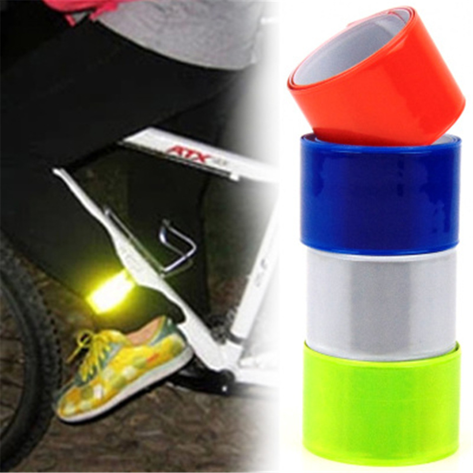 Bicycle Reflective Safety Pant Tape Cycling Warning Reflective Safety Band Bike
