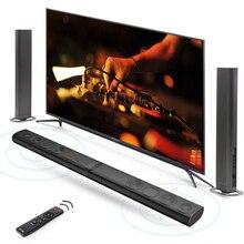 8 Lautsprecher HiFi Abnehmbare Drahtlose Bluetooth Soundbar 3D Surround Stereo Subwoofer für TV Heimkino System Optische Sound Bar