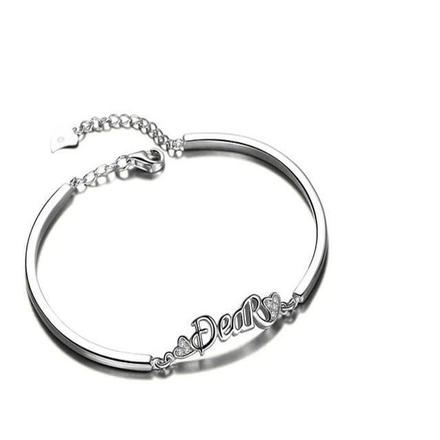 925 silver jewelry bracelet silver fashion jewelry gift