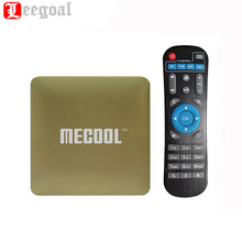 Mecool HM8 Smart TV Box 3D 4 К Потоковое Media Player Android 6.0 Amlogic S905X Quad Core Коди 17.0 1 г + 8 г оты Wi-Fi Мини TV Box