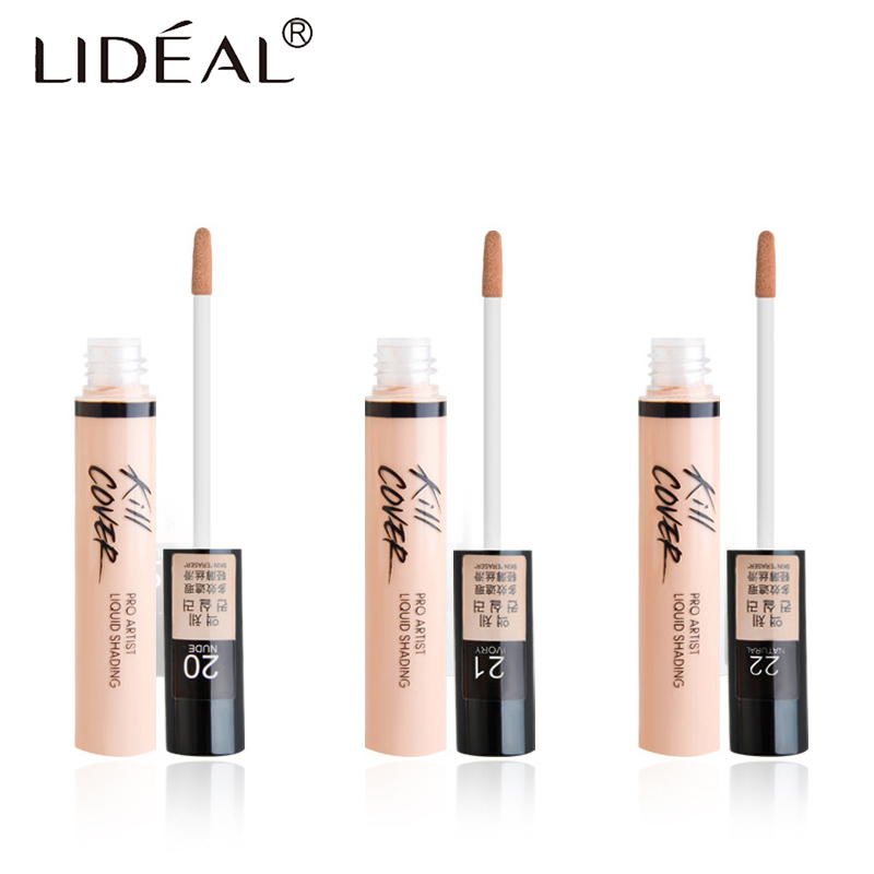 LIDEAL Brand 3 Color Concealer Pen Combination Professional Profile Makeup Cream Concealer powder Cosmetics Makeup Hot Sell image