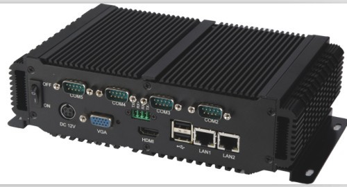 Fanless All in one PC With Embedded industrial computer support Windows7 & linux System
