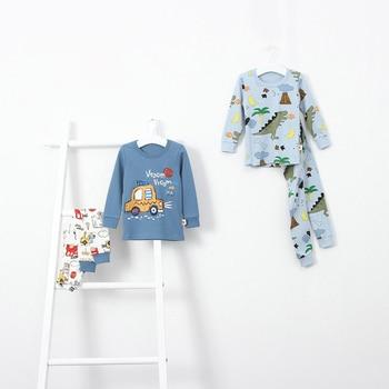 Boy Cotton Pyjamas - cartoon
