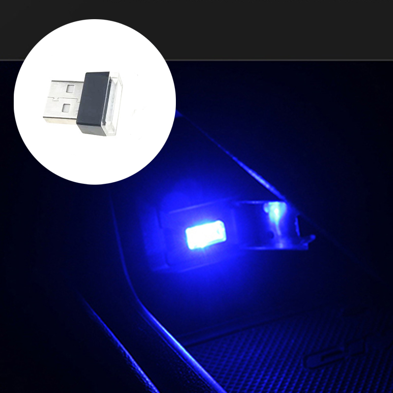 Car Universal USB LED Decorative Light Auto Parts for Land Rover Porsche Jeep Dodge Chery EMGRAND Geely