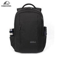 Kingsons 2016 New Fashion Case Logic Laptop Backpack 15 6 Sport Kanpsack Travel Laptop Bag Durable