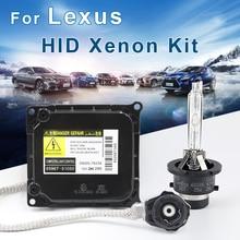 for Lexus  Xenon HID Kit D4S D4R D2R D2S bulb Ballast 4300K-8000K Headlight 6000k