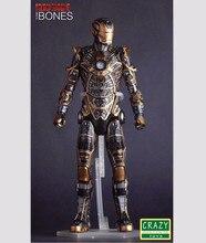 12″ 30CM Crazy Toys Marvel Superhero Movie Iron Man 3 Mark XLI MK41 Bones 1/6 Scale PVC Action Figure Collectible Toy RETAIL BOX