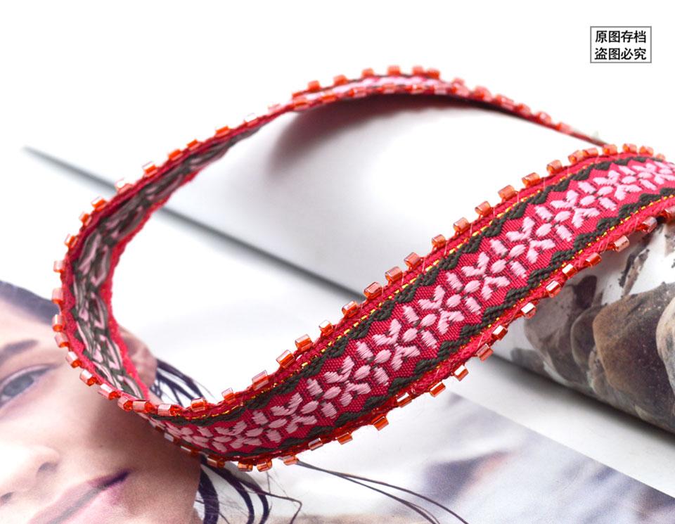 Caliente Nuevo Diseño de Moda del Estilo de Bohemia Rojo Granos de ...