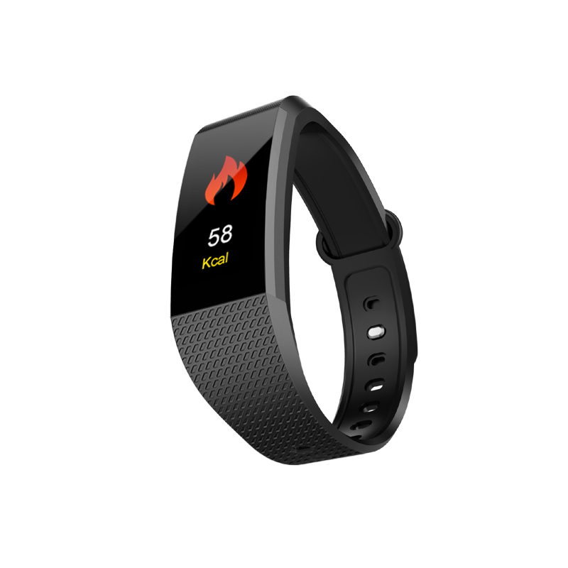 696 I9 Smart Band Color Screen IP68 Waterproof Heart Rate Fitness Bracelet
