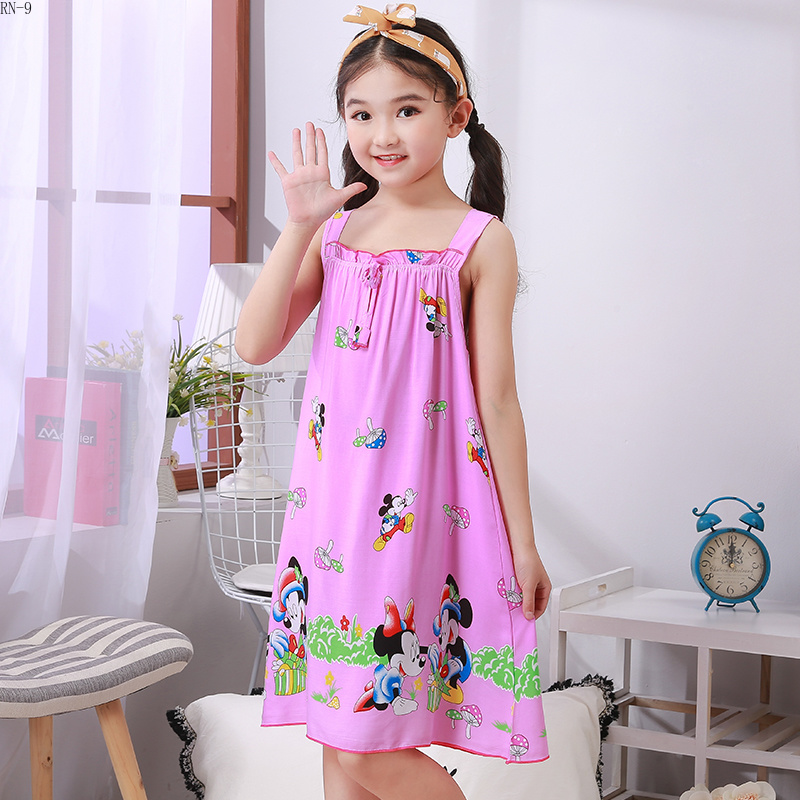 Children Sleepwear 2019 Summer Dresses Girls Pijamas Cute Princess Nightgown Kids Nightdress Girl Sleepwear Baby Girls ClothingChildren Sleepwear 2019 Summer Dresses Girls Pijamas Cute Princess Nightgown Kids Nightdress Girl Sleepwear Baby Girls Clothing