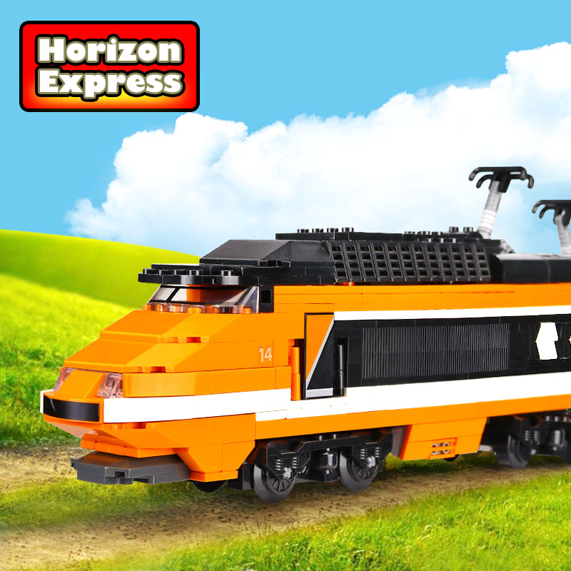 Aliexpress.com : Buy Lepin 21007 Technic Series The Horizon Express Model  10233 Horizon Train Educational Building Blocks Bricks Legoing Toys as Gift  from ...