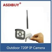 H 264 P2P HD 720P WIFI Wireless IP Camera Outdoor CCTV Network Onvif 4 IR Night