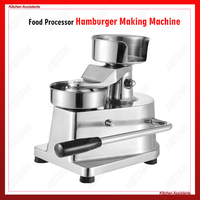 HF Series manual handhold hamburger maker making machine Stainless steel for restaurant KFC McDonald's fast food shop